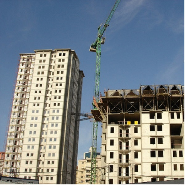 Structural Works for 800-Apartment Housing Project, Kozyatağı