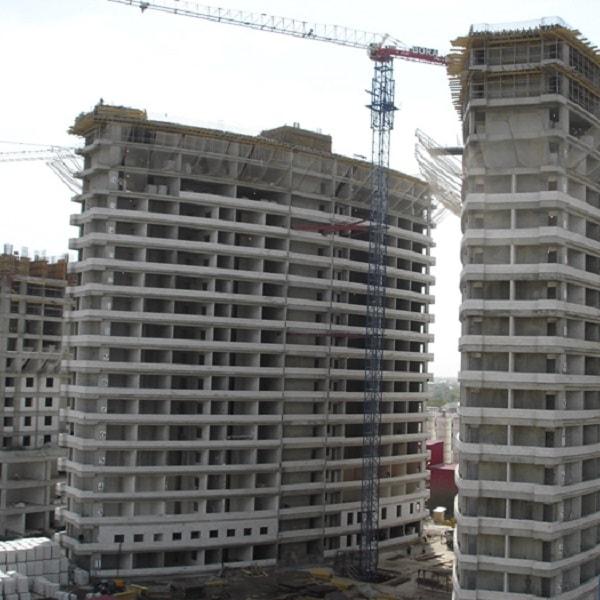 Grozny City Projesi Kabayapı İmalatları