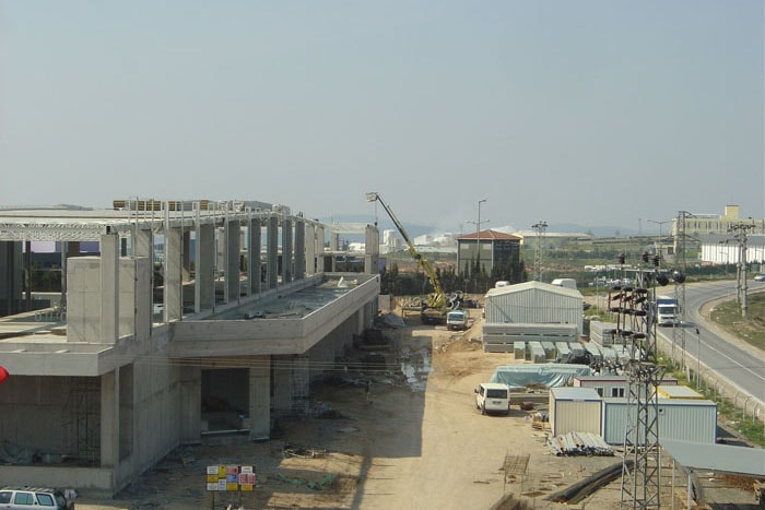 Dimaş İnşaat A.Ş. Structural Works For The Tepeören Warehouse Project