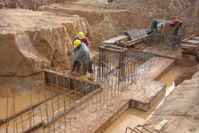 Dimaş İnşaat A.Ş. Tepeören.Antrepo Projesi Kaba İnşaat İmalatları