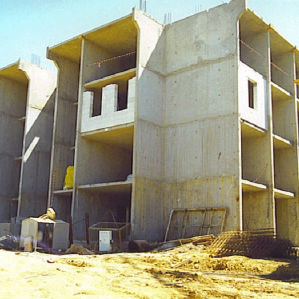 Tunnel Formwork Constructions For The Ford Automotıve Housing Project