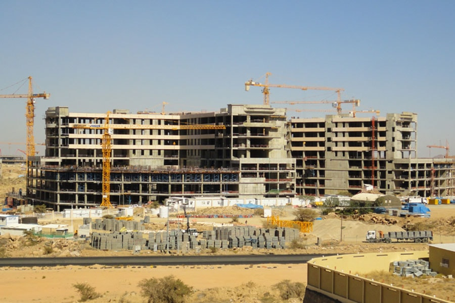 King Khalid Univercity Male Medical Campus Project MM01 Eğitim Hastanesi Kabayapı İmalatları