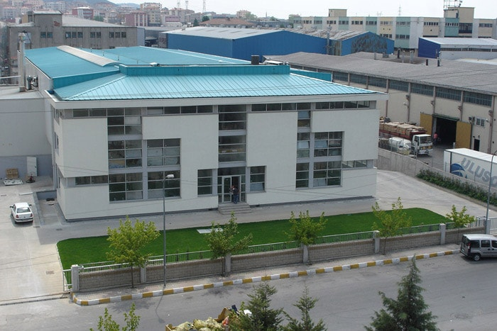 Contractor for the Turnkey Construction of Factory and Administrative Building