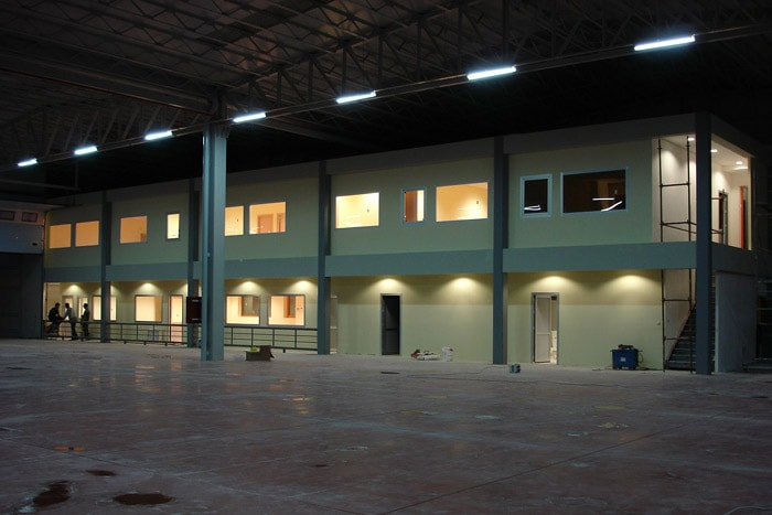 Construction of Storage Building & Structural and Fine Constructions for the Administrative Building, Omsan Logistics Company, Bursa Facilities
