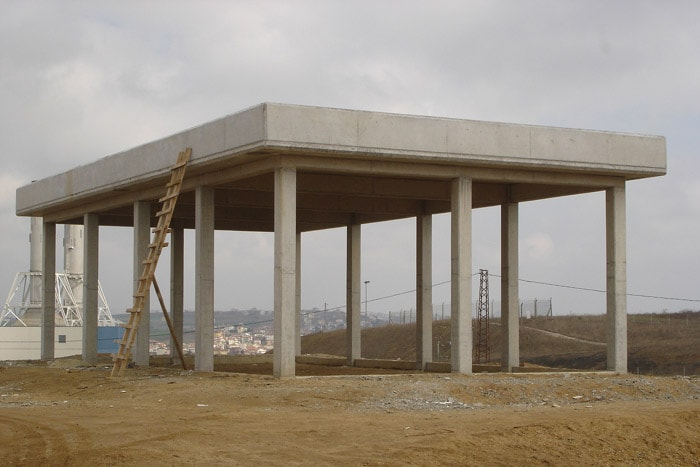 Opet Fuel Company Construction Of Fire Water Pump Building And Control Room, Marmara Ereğlisi Liquid Fuel Storage And Filling Terminal