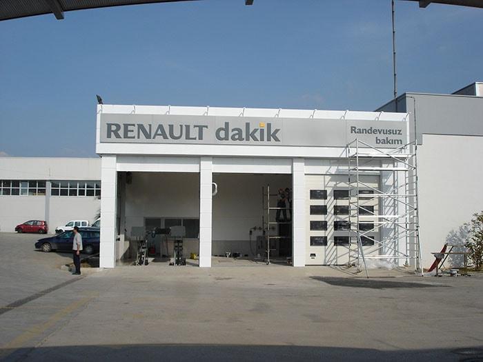 Renault Mais Bursa Dakik Binası İnşaat İşi