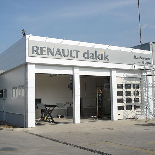 Renault Mais Bursa Punctual Building Construction Work