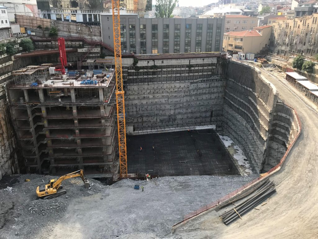 Şancity Tourism, Culture and Life Center Construction, Structural Works