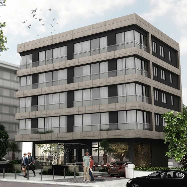Aydın Apartment Block – Kadikoy Istanbul