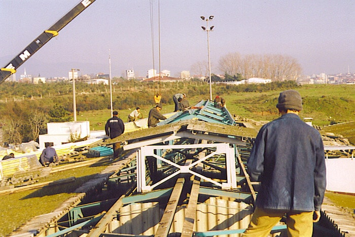 Aygaz Construction Of The Lantern and Roofing Replacement, Tube Filling Building, Yarımca Plant