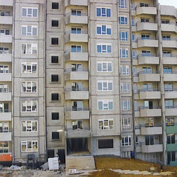 Emlak Bankası Ataşehir Projesi 3. Etap 38 Ada Precast Eleman İmalatları