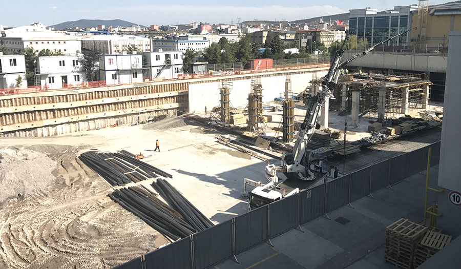 Packaging Plant and Administrative Building Contruction Turnkey Contracting