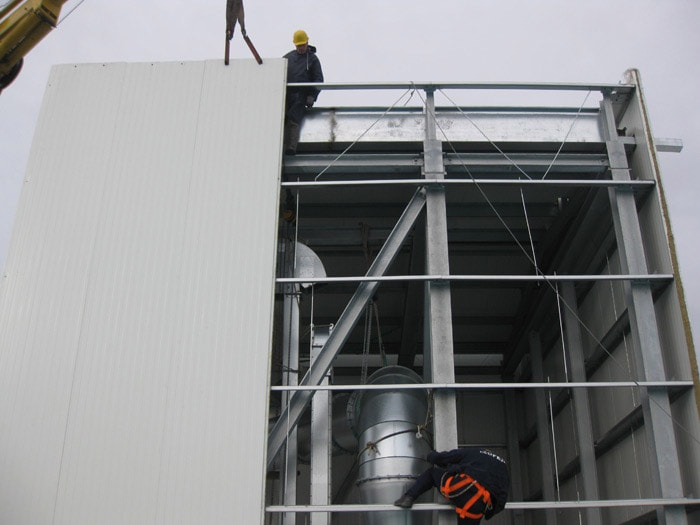 Construction Of Raw, Ground Coffee Silos And Seismic Retrofitting For The New Storage Building