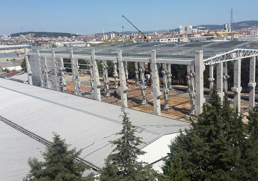 Kurukahveci Mehmet Efendi Mahdumları Ltd. Şti. Contractor For The Turnkey Construction Of Storage Building