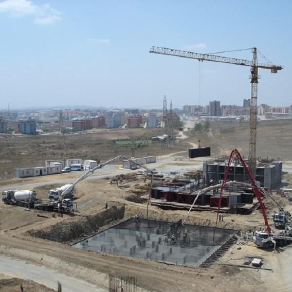 İkitelli Oyakkent 1. Etap Konut Projesi Kaba İnşaat İmalatları